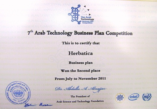 herbatica innovative business plan competition